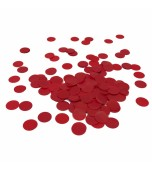 Scatters/Confetti - Paper Circles, Red