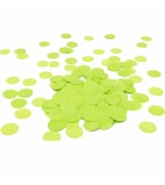 Scatters/Confetti - Paper Circles, Lime Green