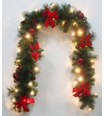 Garland - Christmas Pine 200 cm with 30 LEDs