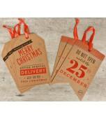 Gift Tags - Giant, Christmas 8 pk