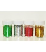 Glitter Powder - Christmas, Assorted