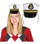Headband - Yacht Captain's Hat, Mini