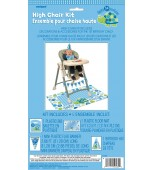 High Chair Decorating Kit - 1st Birthday Turtle, Blue