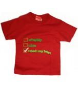 Christmas T-Shirts, Kids - Tried My Best
