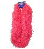 Lei, Fringed - Hot Pink