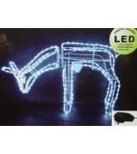 Lights - Rope Light Moving Reindeer, Eating