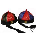 Hat - Chinese w/Plait