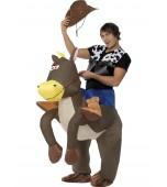 Adult Costume - Inflatable, Ride 'Em Cowboy