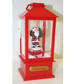 Lantern - Snow, LED & Music Assorted