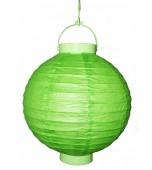 Lantern, Paper 20 cm - Lime Green