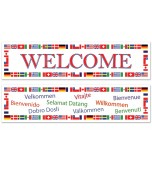 Banners - International Welcome 2 pk