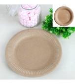 Plates - Dinner, Kraft 12 pk