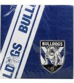 Serviettes - Luncheon, Canterbury Bulldogs 12 pk