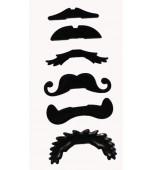 Straws - Moustache 6 pk