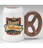 Mug - Oktoberfest, Pretzel Handle