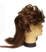 Wig - Budget Mullet, Brown