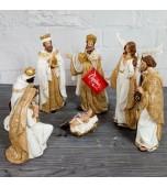 Nativity Scene - Seven Piece Set 23 cm