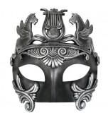 Mask - Cavalli Centurion, Black & Silver