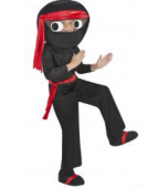 Child Costume - Big Head Ninja