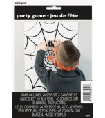 Party Game - Pin the Spider on the Web