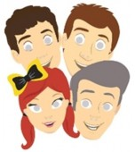 Party Masks - The Wiggles 8 pk