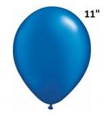 """Balloon - Latex 11"""" Pearl Sapphire Blue"""