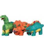Pinata - Dinosaur, Orange Triceratops
