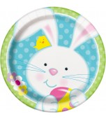 Plates - Luncheon, Easter Bunny 8 pk