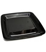 Platter - 40 cm Square, Black