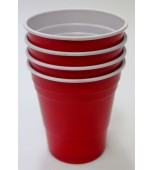 Cups - Beer Pong, Red Minis 40 pk