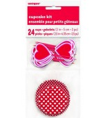 Cupcake Kit - Hearts 24 pk
