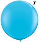 Balloon - Latex 3' Fashion Robin's Egg Blue