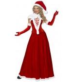 Adult Costume - Luxury Miss Santa