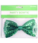 Sequin Bow Tie - Green