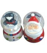 Snow Globe/Dome - Snowman or Santa