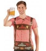 Adult Costume - Faux Real Shirt, Men's Oktoberfest