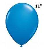 "Balloon - Latex 11"" Standard Dark Blue"