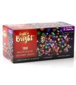 String Lights - 100 LED Battery, Multicolour