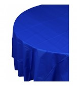 Tablecloth - Round, Blue