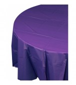 Tablecloth - Round, Purple