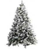Christmas Tree - The Russian, 6 ft Green with Snow