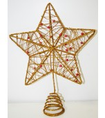 Tree Topper - Star, Glitter Assorted