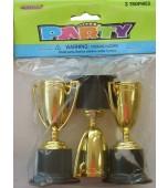 Trophy - Gold 3 pk