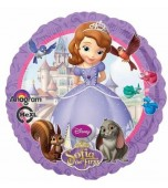 Balloon - Foil, Sofia the First, Round