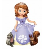 Balloon - Foil Airwalker, Sofia the First