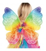 Wings - Fairy, Rainbow