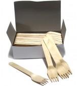 Forks, Wooden 100 pk