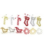 Nutbell Silhouette Decoration - Assorted Designs & Colours