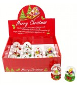 Water Ball - Christmas, Small Assorted