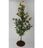 Christmas Tree - Small, Berries & Beads